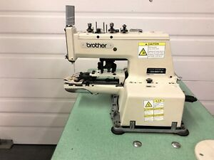 Brother Cb3 b917 1a Late Model Button Sewer 110 Volt Industrial Sewing Machine