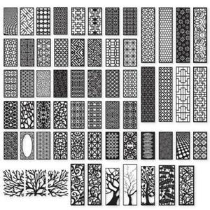 100 Dxf Of Laser Cut Cnc Vector Dxf Cdr Ai Art File