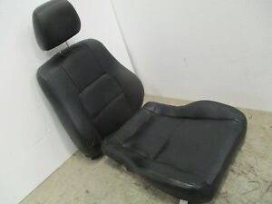 1997 2001 Honda Prelude Front Passenger Side Seat Cushions Black Leather