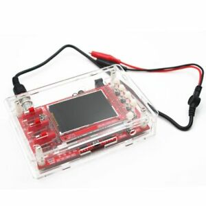 Digital Oscilloscope Kit Handheld Pocket Size Smd Soldered Acrylic Case Covers