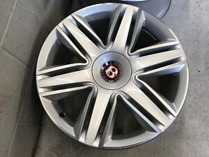 20 Bentley Continental Gt Gtc Flying Spur Wheel Set Polished painted