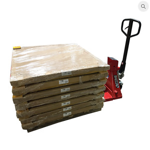 Heavy Duty Pallet Jack Scale With Built in Printer 4 500 X 1 Lb Capacity