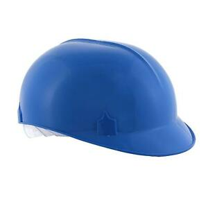 Bump Cap With 4 Point Pin Lock Suspension Hdpe Cap Style Blue