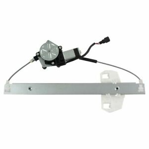 Power Window Regulator With Motor Rear Driver Side Left Lh For Jeep Wrangler New