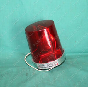 Federal Signal 121s 8107164 121s 120r Rotating Red Light Beacon 120vac Vital
