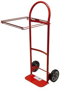 Milwaukee Hand Trucks 40620 Flow Back Handle Truck With Poly Bag Holder And 8 in