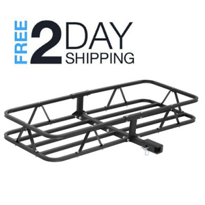 Cargo Carrier 500lb Capacity Basket Style 2 1 25 Equipment Rack Trailer Hitch