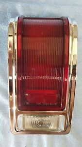 1965 Dodge Coronet 440 Right Side Used Tail Light Assembly W Lenses And Gasket