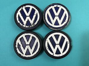 1980 Volkswagen Rabbit Wheel Center Cap Part 321 601 171 B Blh set Of 4