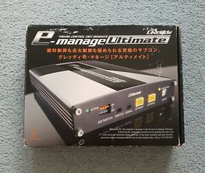 New Greddy Emanage E manage Ultimate Ecu Universal Engine Management Computer