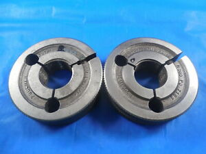 757 16 Stub Acme Thread Ring Gages 7570 Go No Go P d s 7314