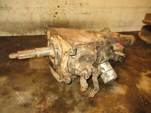 Chevy Impala Biscayne Bel Air 3 Speed Overdrive Borg Warner Transmission 3744920