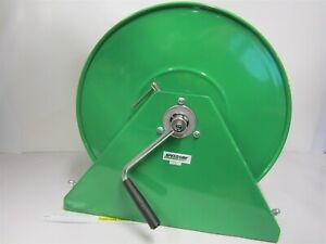 Heavy Duty Hand Crank Air water Hose Reel 1 2 f npt Inlet X 1 2 f npt