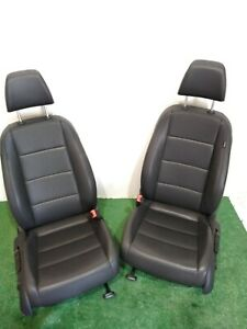 10 11 12 13 14 Volkswagen Jetta Black Leather Front Bucket Seats Oem L R