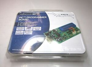 Velleman kit k8076 Pic Programmer Board 15vdc 300ma Adapter 40pin Zif Socket