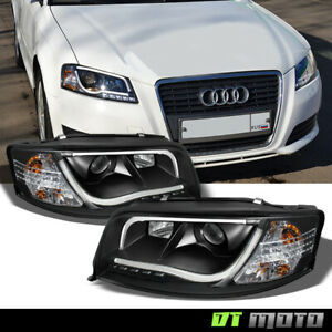 2002 2004 Audi A6 quattro rs5 Style Led Drl Running Lamp Projector Headlights