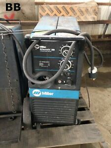 Miller Millermatic 300 Cv dc Mig fcaw Welding Power Source wire Feeder 300a 32v