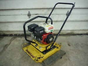 Used 2008 Powerland Pdz2045 6 5 Hp Gas Walk Behind Vibratory Plate Compactor