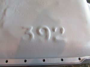 Chrysler Mopar Dodge 360 Cubic Inch Block Oil Pan Stamped 392 Oem