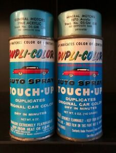 Vintage Spray Paint Can Lot Dupli Color General Motors Buick Cadillac Car Truck