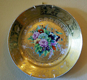 Antique Russian Imperial Porcelain Factory 19th Century Plate