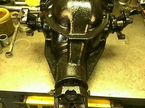 1963 79 Rear End Differential Corvette 3 55 Ratio With New Harden Tip Side Yoke