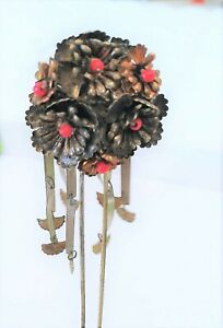 Antique Vintage Kanzashi Japanese Hairpin All Original Perfect Very Old