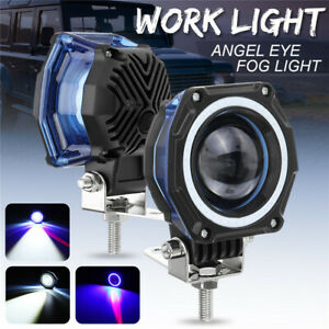 3 Inch Led Work Light Bar Spot Pods Driving Fog Lamp Car Offroad 4wd 12v 24v