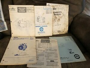 Miller Aead 200le Portable Gas Welder Generator Manual Lot