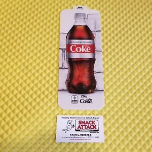 Royal Vendors Soda Vending Machine diet Coke 20oz Bottle Vend Label