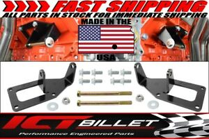 Sbc To Ls Swap Engine Mount Steel Clamshell Bracket Motor Conversion Plate Ls1