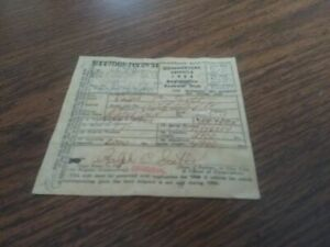 1925 Ford Model Tt Original Document Collectors Document