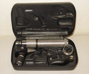 Welch Allyn 3 5v Otoscope Ophthalmoscope Diagnostic Kit 20000 11720 71050 c