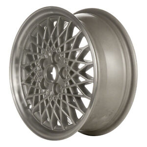 06026 Refinished Chevy Cavalier 1999 1999 15in Wheel Silver W machined Flange
