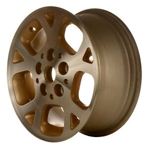 09027 Refinished Jeep Grand Cherokee 1999 2002 16 Inch Wheel Machined W Gold