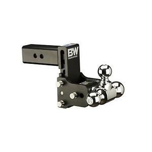 B w Trailer Hitches Tow Stow 2 5 Inch Receiver Hitch black Ts20048b