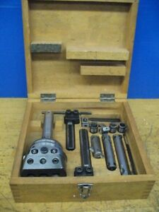 Wohlhaupter Upa 3 Boring Facing Head W Accessories Case R 8 Shank