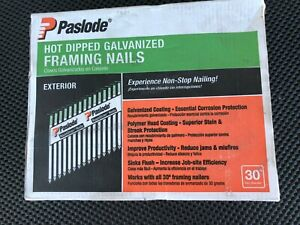 Paslode Framing Nails 2 3 8 In X 0 113 Corrosion Resistant 2000 Per Box