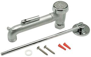 Zurn Industries G60555 Rough Chrome Spout W Vacuum Breaker Assembly