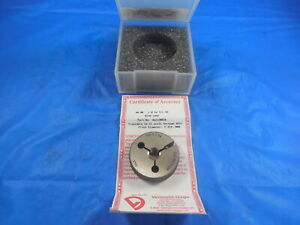 New Certified M8 X 1 0 6g Metric Thread Ring Gage 8 0 1 Go Only P d 7 324 Tool