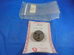 New Certified M8 X 1 6g Metric Thread Ring Gage 8 0 1 0 Go Only P d 7 324