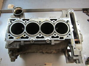 Blk12 Bare Engine Block 2009 Pontiac G6 2 4 12583047