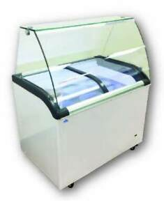 Alamo 41 6 flavor Ice Cream Dipping Cabinet With Sneeze Rail sddc 320q
