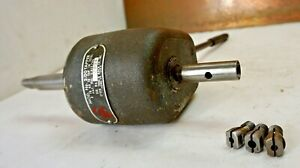 Ettco Mod 2 00 Tapper 0 No 10 Tap 2 Tapping Head Drill With 3 Collets