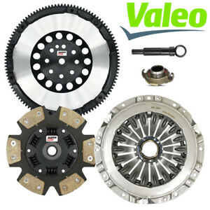 Valeo Stage 3 Race Clutch Kit Solid Flywheel For 2003 08 Hyundai Tiburon 2 7l