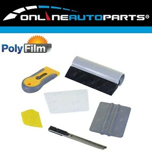 6pc Professional Window Tint Tools Kit For House Office Film Squeegy Knife Set