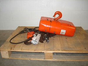 Cm Valustar Wr 2 Ton Electric Chain Hoist 1hp 13 4a 2000kg
