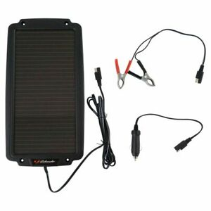 Schumacher Sp 200 Solar Battery Maintainer Trickle Charger 2 4w 12v Brand New