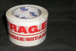 1 12 Rolls Of 3 X 110 Yards fragile Handle With Care Box Sealing Tape 2 2mil