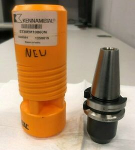 Kennametal Bt30 Endmill Holder 10mm Bt30em10060m